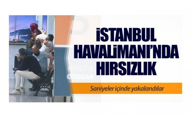 İstanbul Havalimanı'nda hırsızlık olayı