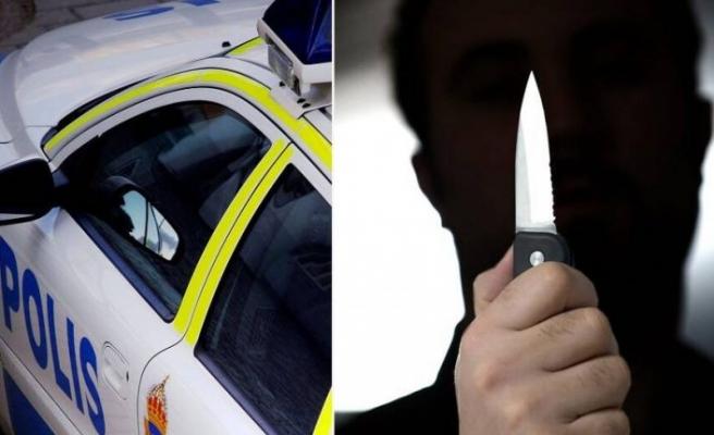 Polisi tehdit eden şahıs tutuklandı