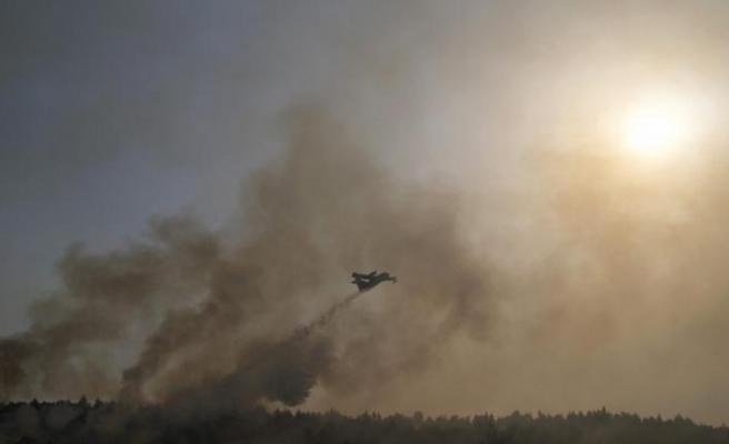 AB, İtalya, Yunanistan ve Balkan ülkelerine yangın söndürme uçakları gönderiyor