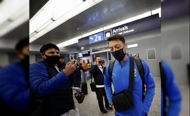 Fenerbahçe kafilesi Helsinki'ye ulaştı
