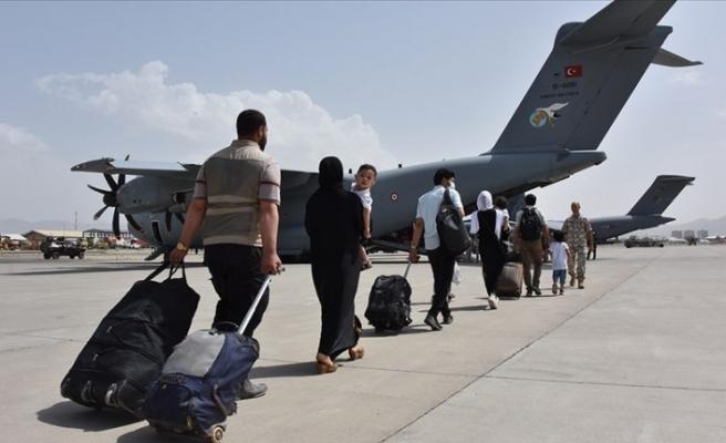 Kabil'deki 200'ü aşkın Türk vatandaşı için 'uçan kale' ile tahliye operasyonu