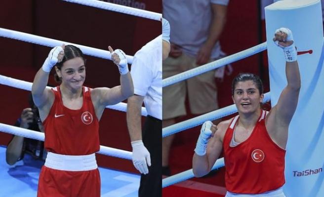 Tokyo 2020: Milli boksörler Buse Naz Çakıroğlu ve Busenaz Sürmeneli finalde