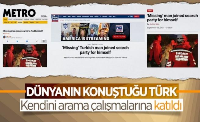 Bursa'da 'kendini arayan adam' dünya gündeminde