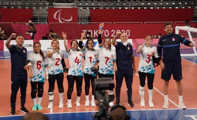 Golbol Kadın Milli Takımı, 2020 Tokyo Paralimpik Oyunları'nda altın madalya kazandı