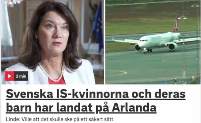 Suriye'den sınır dışı edilen IŞİD'li kadınlar İsveç'e geldi