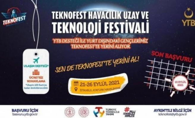 Yurt dışında yaşayan gençler #Teknofest'te yerini alıyor