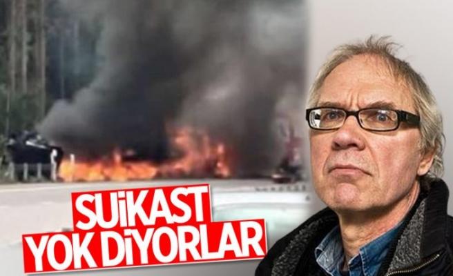 Lars Vilks'in öldüğü kazayla ilgili soruşturma devam ediyor