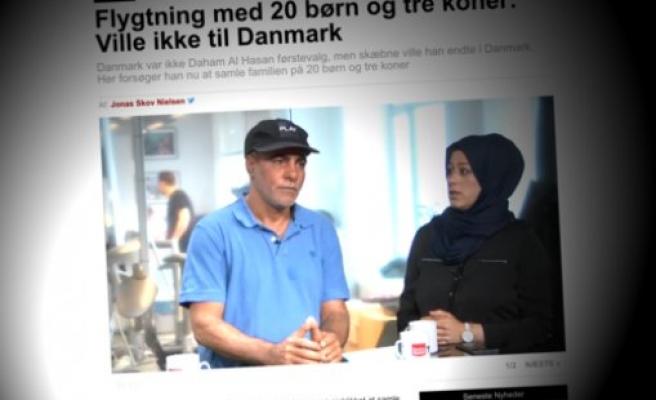 20 çocuklu baba İsveç'e geçemedi