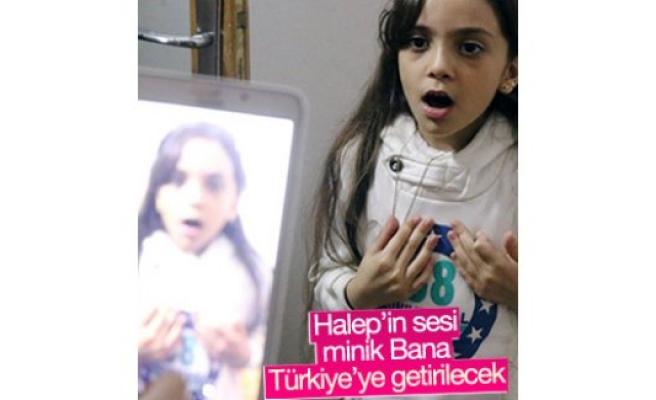 7 yaşındaki Bana Türkiye'ye getirilecek