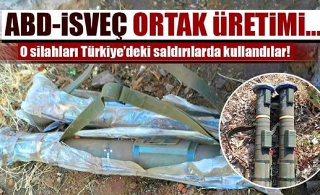 ABD - İSVEÇ ortak üretimi silahlar, Türkiye'ye karşı kullanıldı