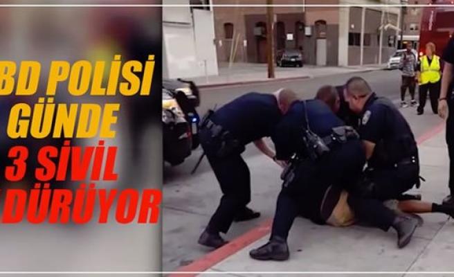 ABD polisi 2016'da 561 sivil öldürdü