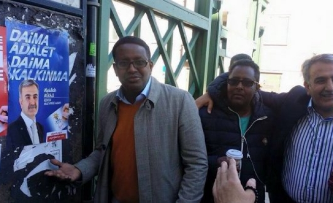 Abdullah Ağralı, Stockholm'de seçim çalışmaları tüm hızla devam ediyor