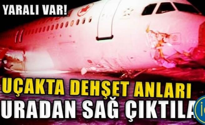 Air Canada uçağında korkunç anlar!