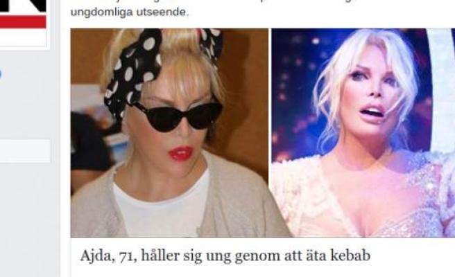 Ajda Pekkan'ın yaşı ve görüntüsü İsveç'i salladı