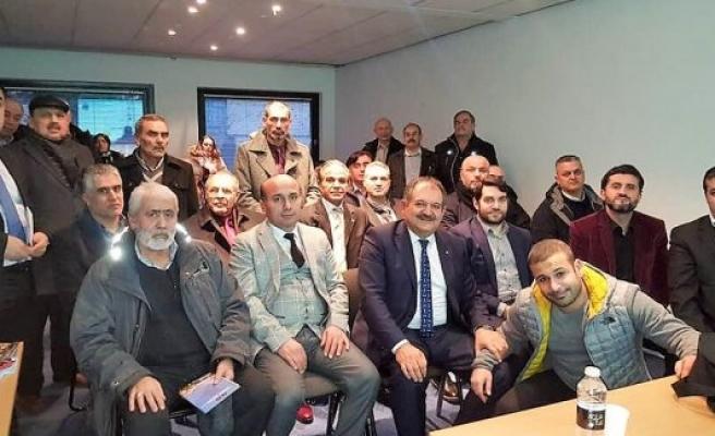 Akdeniz Üniversitesi seçme sınavı bilgilendirme toplanntısı Danimarka'da yapıldı
