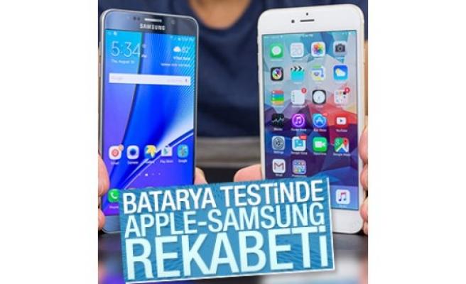 Akıllı telefonlara batarya testi yapıldı