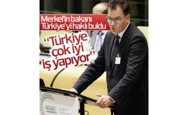 Alman Bakan'dan Türkiye haklı açıklaması