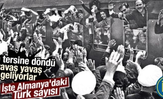 Almanya'da Türk vatandaşlarının sayısı azaldı