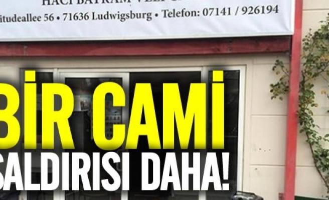 Almanya'da yine camiye saldırdılar