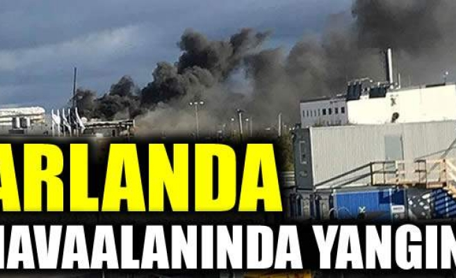 Arlanda'da Havaalanında yangın çıktı!