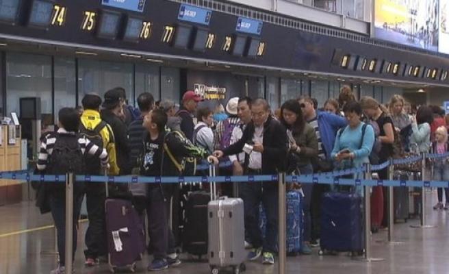 Arlanda Havalimanında kaos