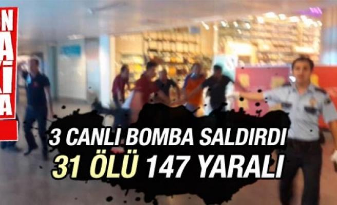 Atatürk Havalimanı'nda terör saldırısı 31 ölü, 147 yaralı