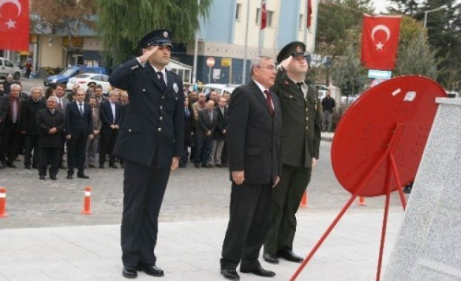 Atatürk Vefatının 78. Yılında Kulu'da Saygıyla Anıldı