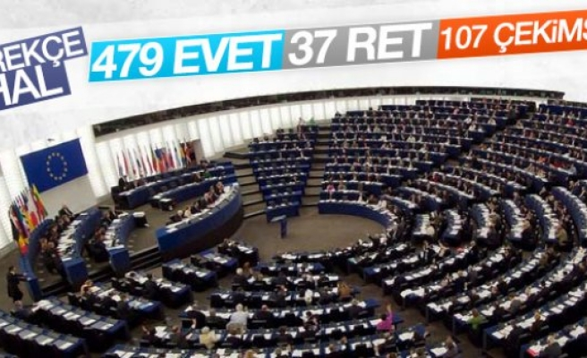 Avrupa Parlamentosu'ndan Türkiye kararı