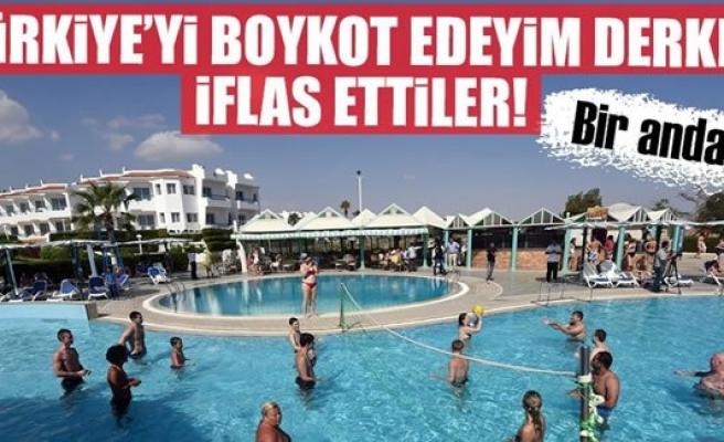Avrupalı turizmciler Türkiye'yi boykot ederken kendilerini vurdu!