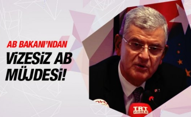 Bakan Bozkır: AB ile vizesiz geçiş için anlaştık!