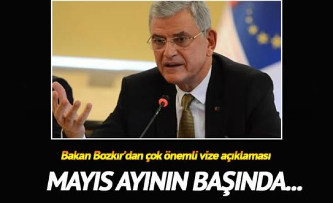Bakan Bozkır'dan vize muafiyeti açıklaması
