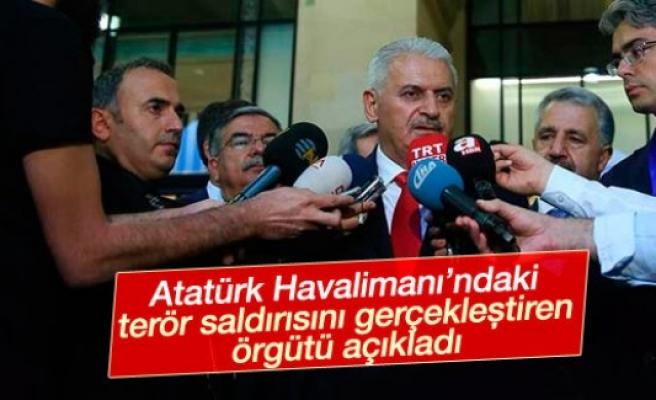 Başbakan Yıldırım'dan saldırıyı yapan örgütü açıkladı