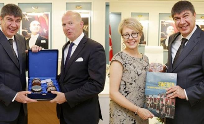 Başkan Türel, İsveç İstanbul Konsolosunu kabul etti
