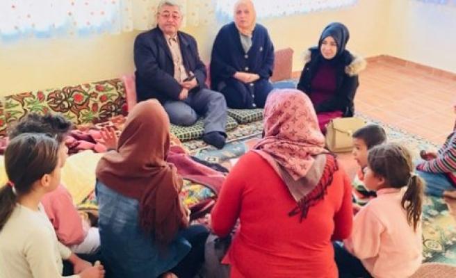 Başkan Yıldız, Kulu'da Suriyeli aileye konuk oldu