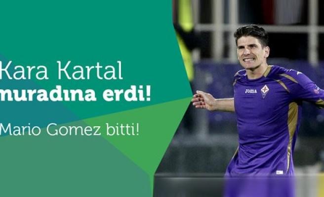 Beşiktaş Mario Gomez'i renklerine bağladı