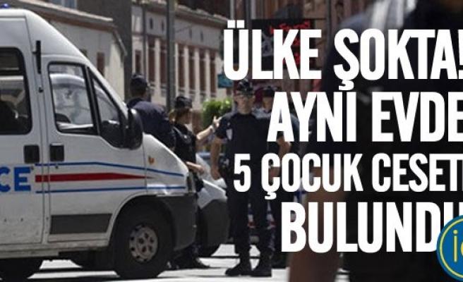 Bir evde 5 çocuk ceseti bulundu Polis bile şoke oldu!