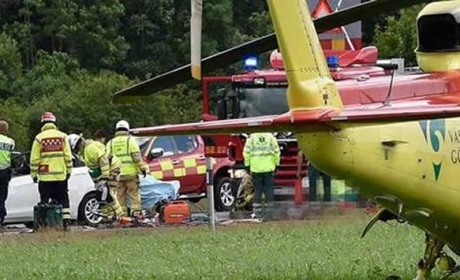 Bir feci kaza daha!