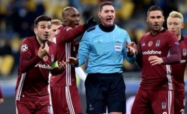 BJK-Kiev hakemi için FIFA'dan skandal karar!