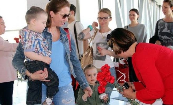 Bodrum'da İsveçli turistler sezonu açtı