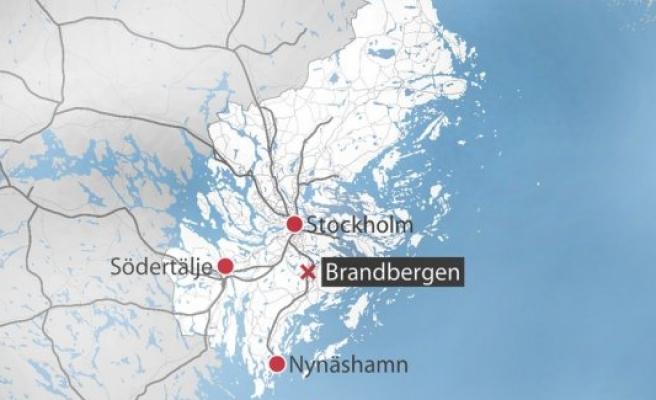 Brandbergen'de bir kişi bacağından vuruldu