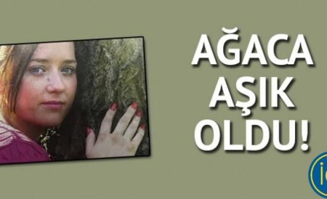 Bu kadın ağaçla evlenmek istiyor