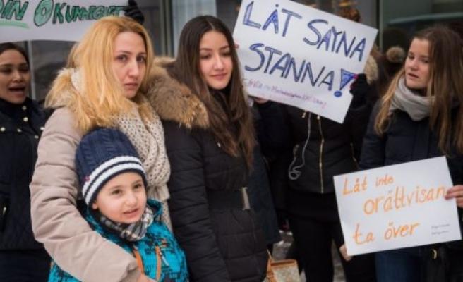 Bütün aile 4 yıl sonra  İsveç'ten sınır dışı edildi