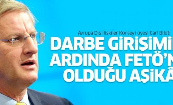 Carl Bildt: ''Darbe ilk 48 saatte engellenemeseydi, Türkiye'de ne olacaktı?''