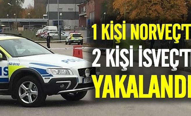 Cinayeti işledikten sonra kaçan 3 kişiden biri Norveç'te ikisi İsveç'te yakalandı