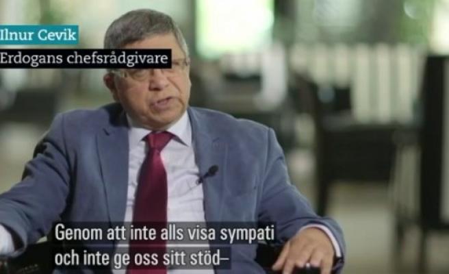 Cumhurbaşkanı Başdanışmanı İsveç Devlet Televizyonu'na Konuştu