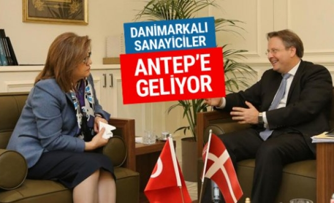 Danimarkalı sanayiciler Gaziantep'e geliyor