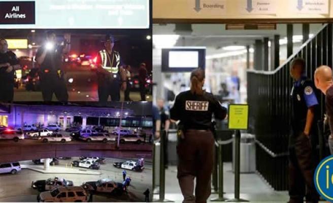 Döner bıçağıyla Havaalanına daldı ortalığı bir birine kattı