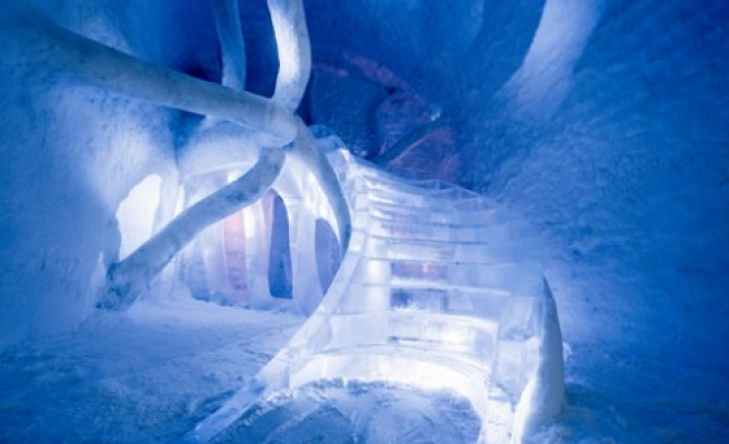 Dünyanın İlk Kalıcı Buz Oteli İsveç'te Bu Senede Hizmet Veriyor