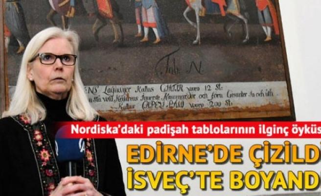 Edirne'de çizildi İsveç'te boyandı: Paha biçilme Osmanlı Taploları