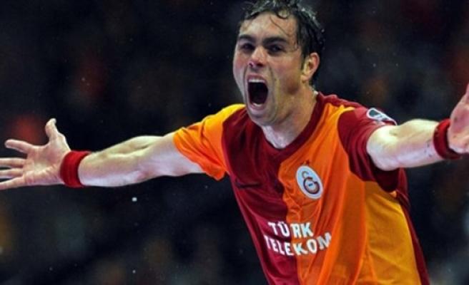 Elmander'den Galatasaray paylaşımı